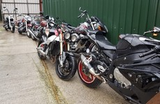 Ten motorcycles, three cars and €4,000 seized in 'significant' CAB raid in Dublin