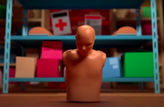 This eye-catching video might seem funny, but its message will save lives