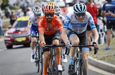 Ireland's Dan Martin finishes third in explosive opening stage of Vuelta