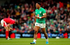 'I get on people's nerves': Bundee Aki refuses to quieten down