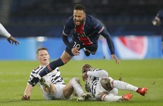 As it happened: PSG vs Manchester United, Champions League
