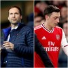 Retired goalkeeper Cech named in Chelsea's Premier League squad, Ozil left out of Arsenal's
