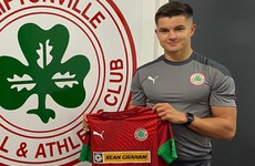 Dáire O'Connor signs for Cliftonville following Cork City exit