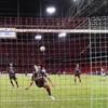 Own goal gets Liverpool's Champions League bid off to winning start as Fabinho fills Van Dijk void