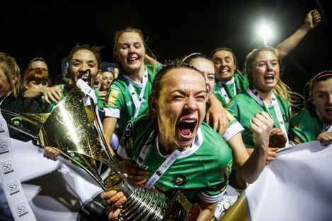 Áine O'Gorman and her Peamount side won the league for the first time since 2012 last season.