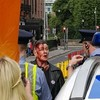 Man arrested over assault of activist at anti-mask protest in Dublin