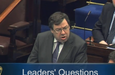 Fighting Cowen dismisses opposition's Dáil bailout complaints