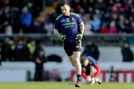 Kevin McLoughlin returns to the Mayo side.