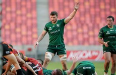 Masterson moves to second row as Connacht's lock stocks run very low