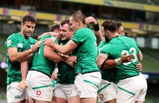 Debutants impress as Ireland secure bonus-point win to keep Six Nations hopes alive