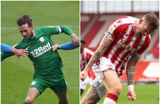 Browne and McClean both hit the net in Championship wins as Idah sees red late on
