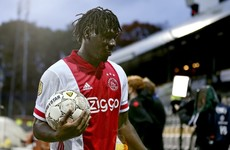 Ajax set Dutch record with 13-0 win as Lassina Traore scores five
