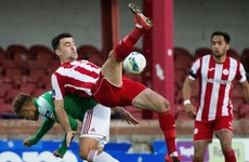 Cork City face the drop after Coughlan hits winner for Sligo Rovers
