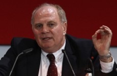 Consistent: Hoeness calls for Blatter's resignation