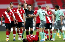 Premier League leaders Everton suffer first defeat of the season against Southampton