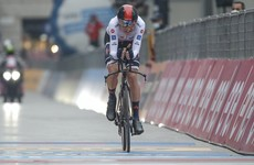 London's Tao Geoghegan Hart in shock as he wins the Giro d'Italia
