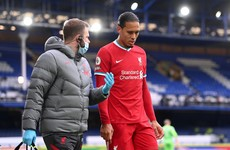 Klopp impressed with Liverpool response to being without Virgil van Dijk