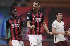 Ibrahimovic strikes twice but Roma level three times in Milan stalemate
