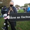Dozens protest outside Áras an Uachtaráin over Mother and Baby Homes Bill