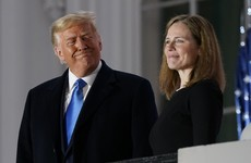 Trump hails 'momentous day' as Amy Coney Barrett sworn in to the US Supreme Court