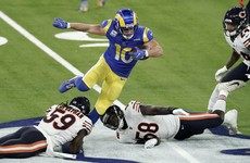 Rams hand Bears second defeat of NFL season in defensive battle