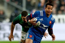 France wing Thomas ruled out of Ireland clash with fullback Bouthier a doubt