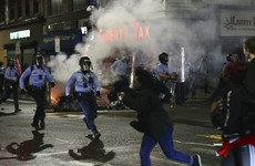 Protests flare in Philadelphia after police kill black man