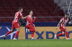 Double from Portuguese prodigy inspires crucial comeback win for Atletico
