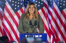 Melania Trump criticises Biden and Democrats in first solo campaign stop