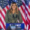 Melania Trump criticises Biden and Democrats in first solo campaign stop