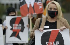 Poles join nationwide strike over abortion ruling