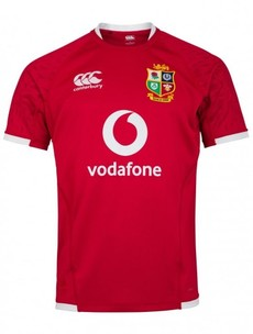 Here's the new Lions jersey for next summer's tour of South Africa