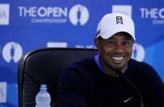 Tiger finding firm form on soft Lytham links
