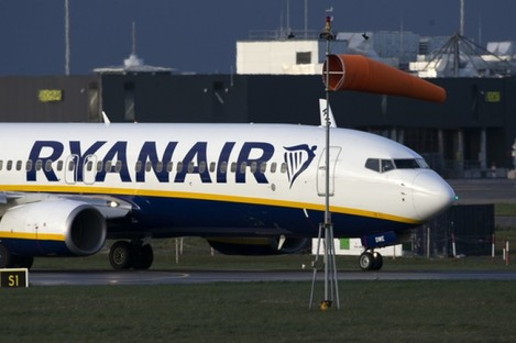 File image of a Ryanair plane.