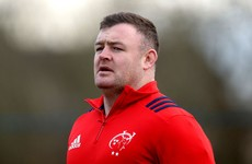 Blow for Munster as Ireland prop Kilcoyne facing extended layoff after ankle surgery