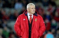 'It's about him holding his body together' - Gatland on Sexton's Lions chances