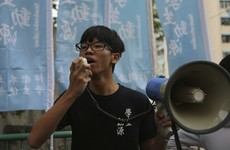 Hong Kong teenage activist Tony Chung charged with secession