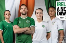 A return to Umbro and no sponsor as new Ireland home and away jerseys released