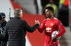 Super-sub union as Solskjaer hails high-flying Rashford after stunning hat-trick