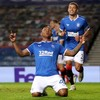 Alfredo Morelos equals Rangers record with 21st European goal in Lech Poznan win