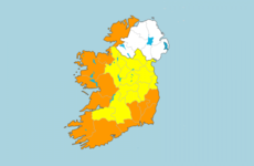 Storm Aiden: Orange wind warning tomorrow with gusts of up to 130km for 12 counties expected