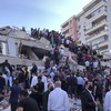 At least 14 dead as strong earthquake hits Turkey and Greece