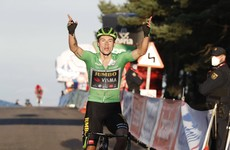 Primoz Roglic surges to Vuelta victory, Dan Martin remains third overall