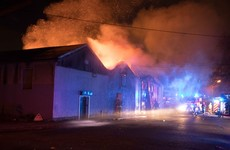 Fire brigade brings large blaze at Santry warehouse under control