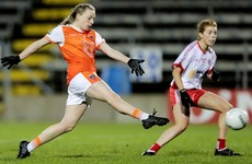 Armagh and Tyrone hit nine goals but McCoy hat-trick powers Orchard county to impressive win