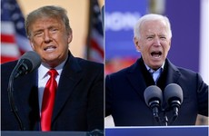 Trump and Biden crisscross Midwestern states as they enter final days of election campaigning