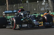 Valtteri Bottas pips Lewis Hamilton to pole position in Italy