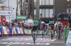 Gaudu climbs to victory on 11th stage of Vuelta but Roglic keeps lead
