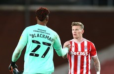 James McClean goal sees Stoke close in on Championship play-off spots