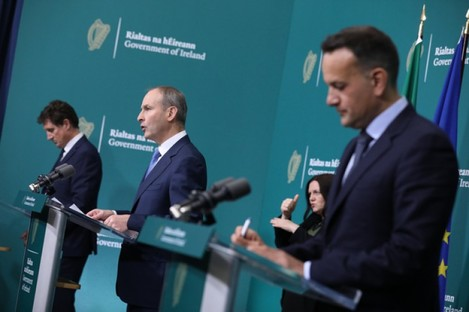 Leo Varadkar is under pressure from his government colleagues.